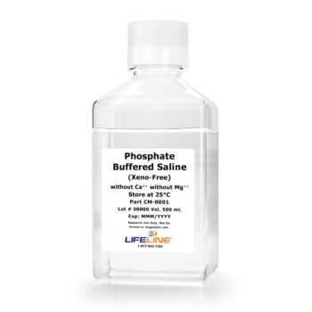 Phosphate Buffered Saline Xeno-Free