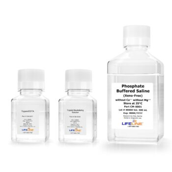 TrypKit 100 mL Large Kit with PBS, Trypsin/EDTA LL-0013