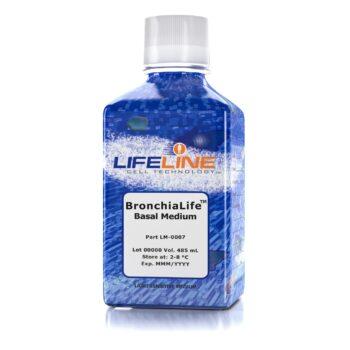 LM-0007, BronchiaLife Basal Medium 485mL