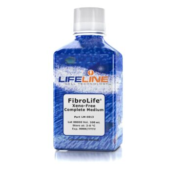LM-0013, FibroLife 500mL Xeno Free Complete Medium v1